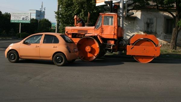 ремонт дороги Таганрог