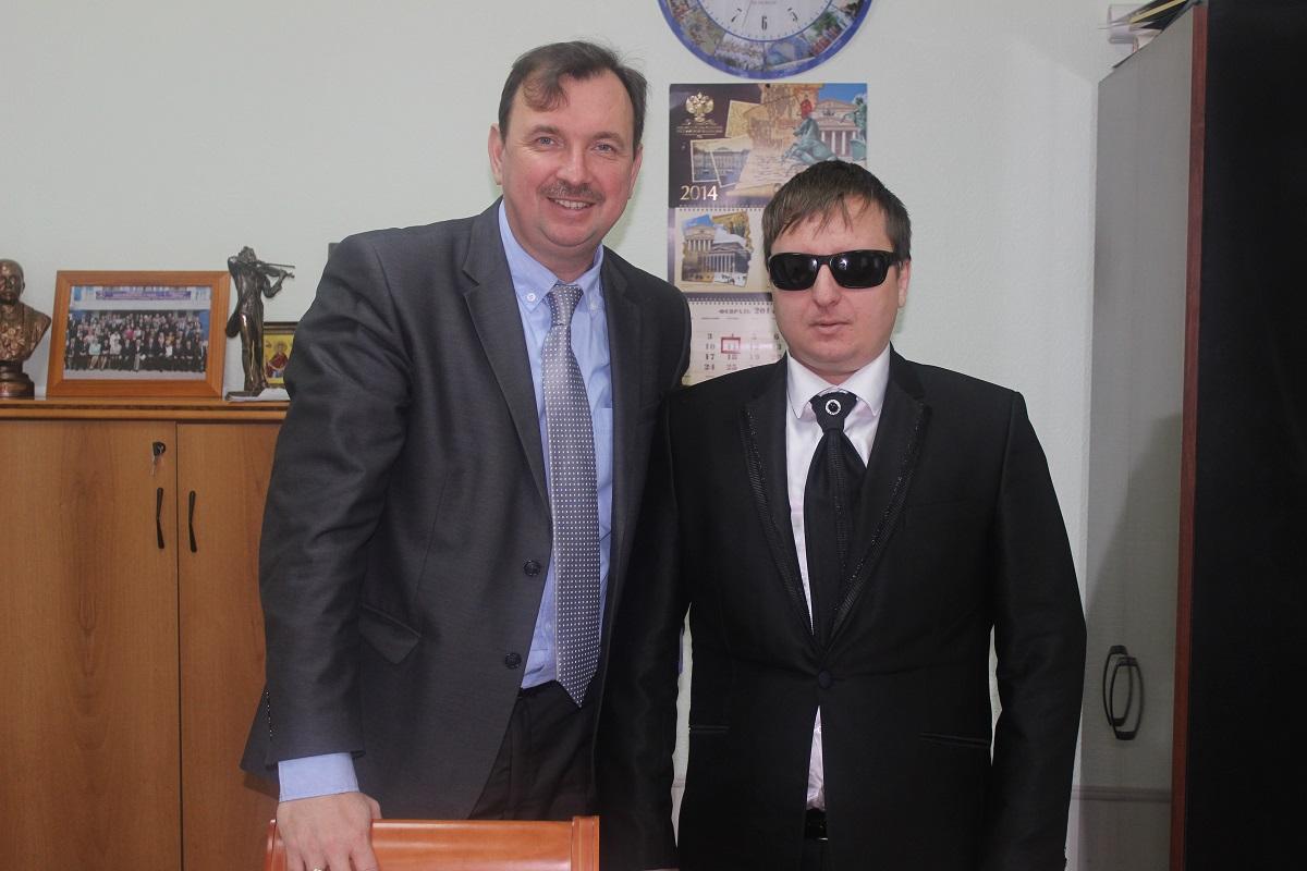С министром культуры Ростовской области Резвановым Александром Анатольевичем 2014