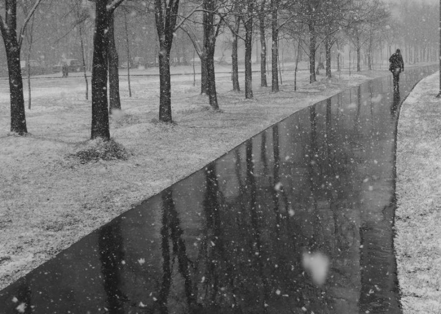 Таганрог снег